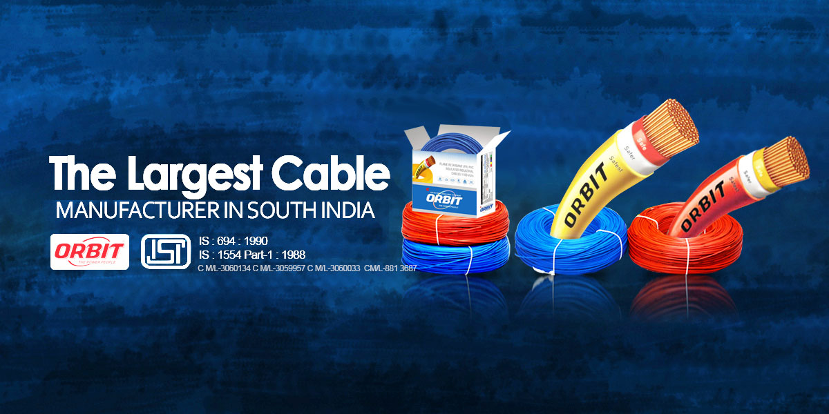 Cable Wire Dealers and Manufacturer in India | Orbitcables com